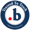Trained To Teach .b logo